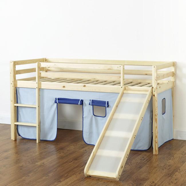 hochbett mit rutsche spielbett kinderbett abenteuer. Black Bedroom Furniture Sets. Home Design Ideas